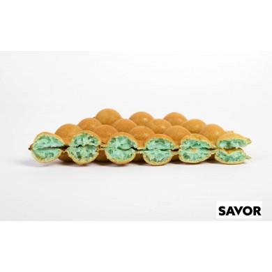 Pistachio Dream - Pistacjowe Ciasto na gofry bąbelkowe