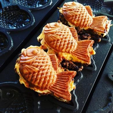 Taiyaki - Gofry Rybki Ciasto  proszek mieszanka koncentrat