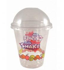 Komplet Shake kubek+przykrywka 400ml