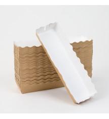 Verpackung für Corn Dogs und Waffeln am Stiel