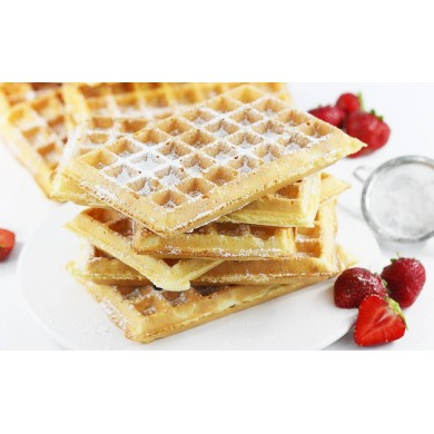 2in1 Vegan Cake on Bubble Waffle and Waffles 5kg