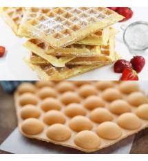 2in1 Vegan Cake auf Bubble Waffle und Waffeln 5kg