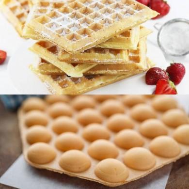 Ciasto Wegańskie 2w1 na Bubble Waffle i Gofry 5kg