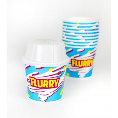 Flurry Set: Becher, Deckel und Teelöffel 300ml Savor