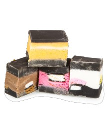 The Fudge Factory Liquorice Allsorts Fudge 2kg