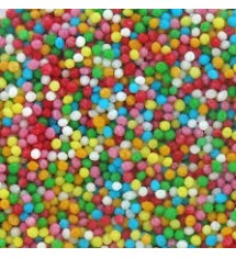 Posypka cukrowa maczek  mix kolorów 1kg
