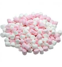 Mini Pink & White Mallows Bulk 1kg