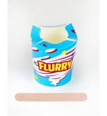 Komplet FLURRY ECO KUBEK + Drewniana szpatułka